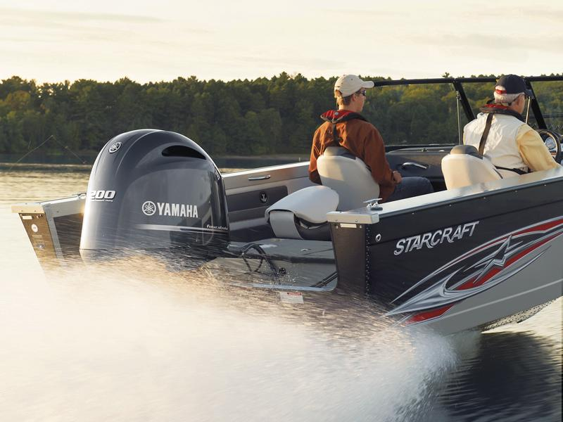 2017 Yamaha LF200XCA in Center Ossipee, New Hampshire