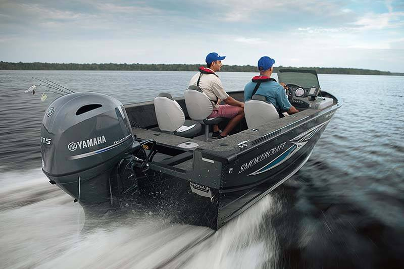 2018 Yamaha F115 I-4 1.8L Mechanical 25 in Coloma, Michigan