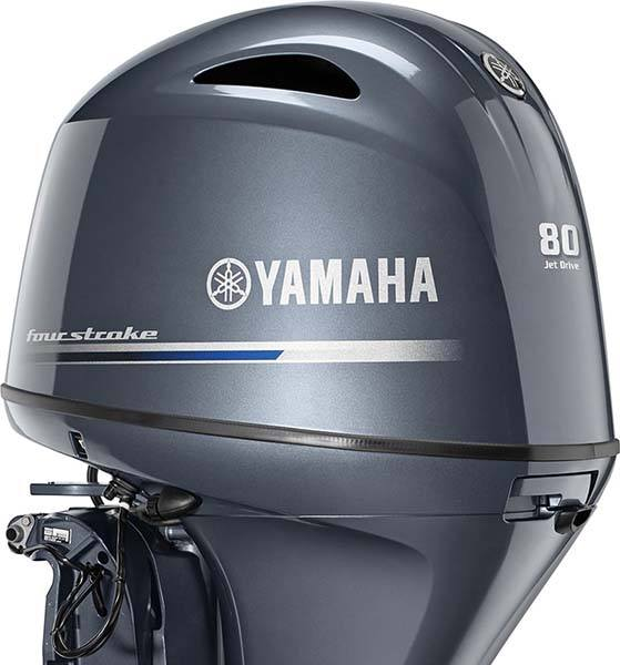 2018 Yamaha F115 Jet Drive in Coloma, Michigan