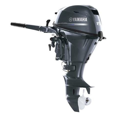 2018 Yamaha F15 Portable Tiller ES in Coloma, Michigan