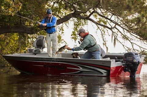 2018 Yamaha F25 Portable Tiller ES in Hancock, Michigan