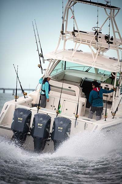 2018 Yamaha F350NCC Offshore 5.3L V8 in Newberry, South Carolina