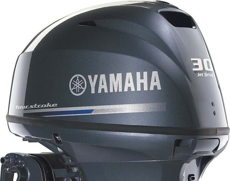 2018 Yamaha F40 Jet Drive Tiller in Oceanside, New York