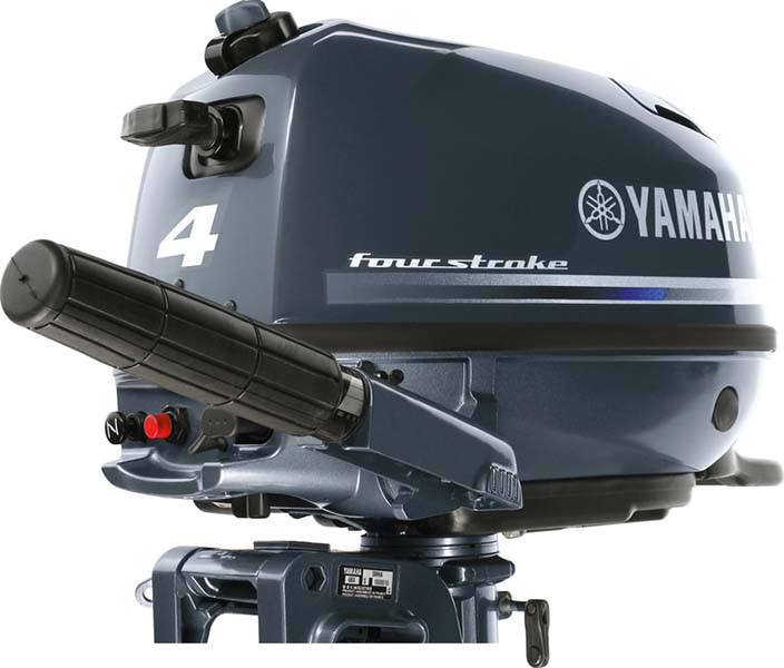 2018 Yamaha F4 Portable Tiller in Osage Beach, Missouri