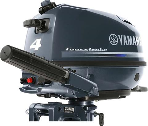 2018 Yamaha F4 Portable Tiller in Coloma, Michigan