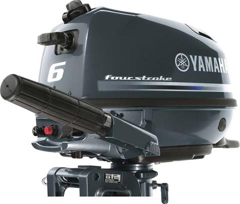 2018 Yamaha F6 Portable Tiller in Mead, Oklahoma