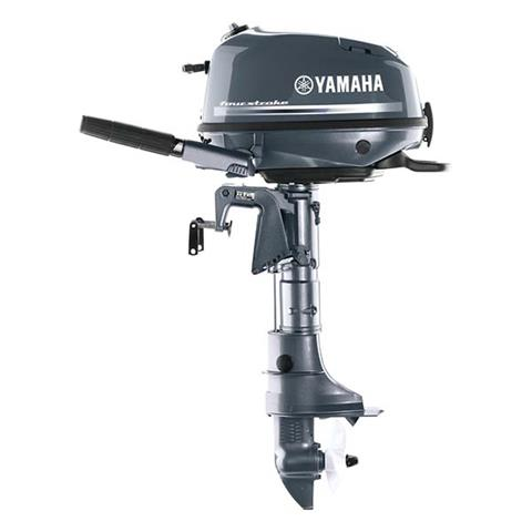 2018 Yamaha F6 Portable Tiller in Edgerton, Wisconsin