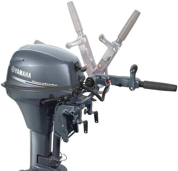 New 2018 yamaha f8 portable tiller boat engines in for Yamaha installment financing