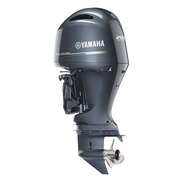2018 Yamaha F200 I-4 2.8L Mechanical 25 in Newberry, South Carolina