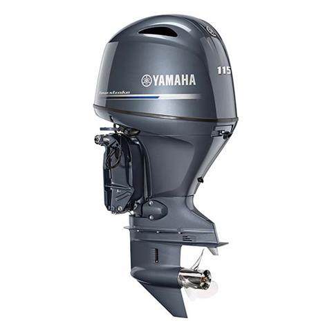 2019 Yamaha F115 I-4 1.8L Mechanical 20 in Coloma, Michigan