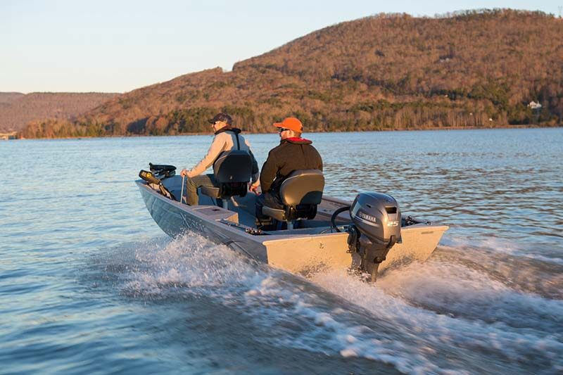 2019 Yamaha F25 Portable Tiller in Bridgeport, New York