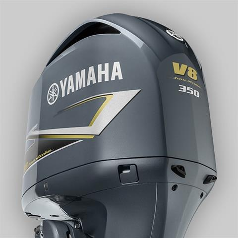 2019 Yamaha F350C V8 5.3L Digital 25 in Coloma, Michigan