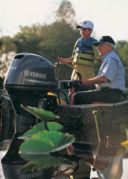 New 2019 Yamaha F40 Midrange Tiller 20 Boat Engines in