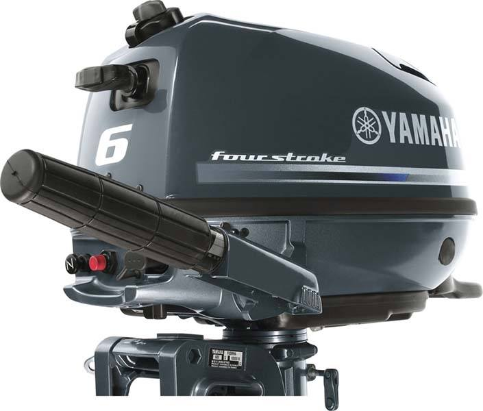 2019 Yamaha F6 Portable Tiller in Bridgeport, New York