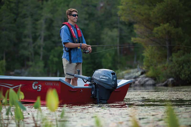 2019 Yamaha F8 Portable Tiller in Black River Falls, Wisconsin