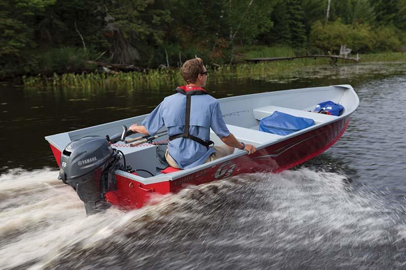 2019 Yamaha F8 Portable Tiller in Hancock, Michigan