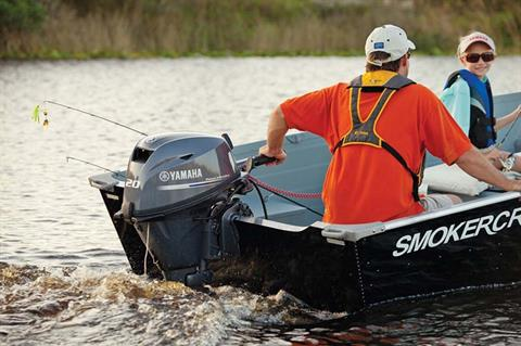 2020 Yamaha F20 Portable Tiller ES PT in Lake City, Florida - Photo 4