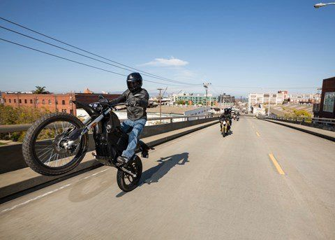 2016 Zero Motorcycles FX ZF3.3 in San Bernardino, California