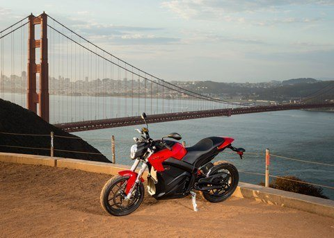 2016 Zero Motorcycles SR ZF13.0 in San Francisco, California