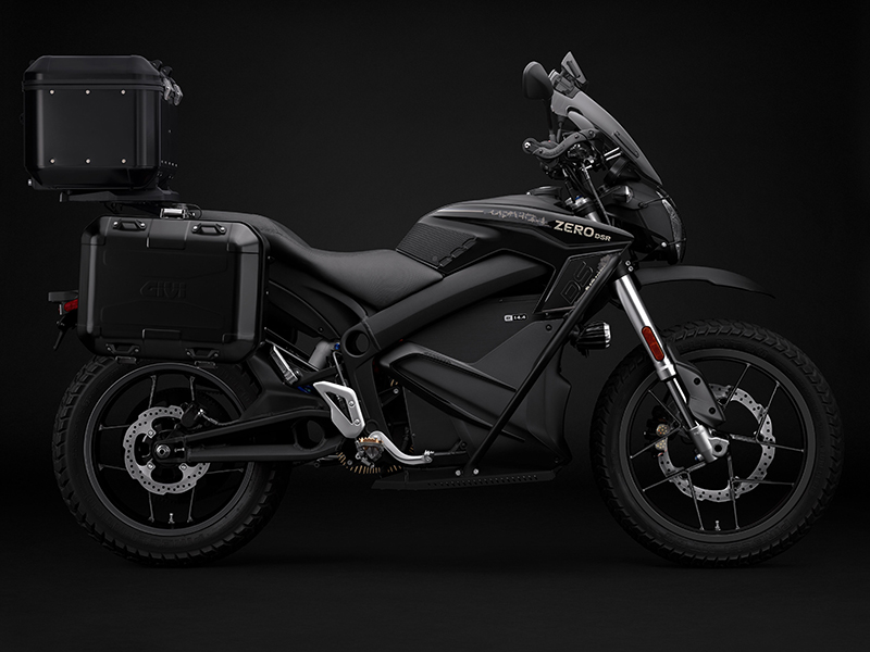 2020 Zero Motorcycles DSR ZF14.4 Black Forest + Charge Tank in Enfield, Connecticut - Photo 2