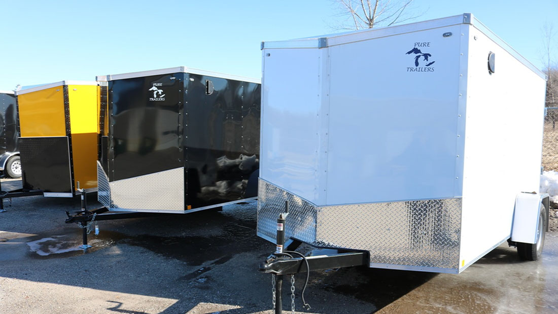 Pure Trailers is available at St. Helen Power Sports | Saint Helen, MI